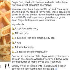 Breakfast waffles