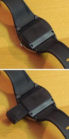 USB flash drive & watch..super spy stuff :)