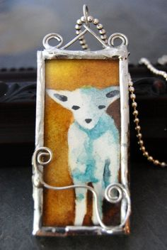 TUTORIAL.   How to Create Soldered Glass Art Jewelry