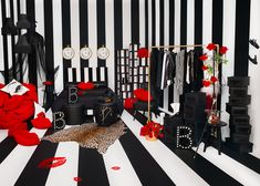 White, black and red collection. Ikea x Bea Åkerlund 2018. Ideas how to decorate with the biggest trends 2018.