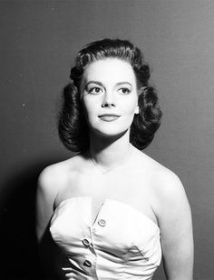 gloriaswanson:Natalie Wood on the set of The Frank Sinatra Show, 1958