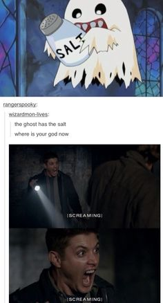Supernatural - I'm repining this just for the Digimon picture with it!