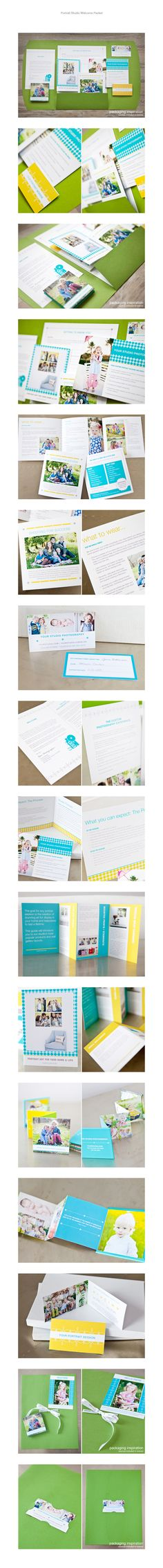 LOVE this portrait client kit from Design Aglow... but don't want to spend a fortune on printed products! Keep working on my own look-book, and put digital versions in place!