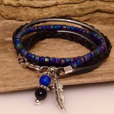 Hey, I found this really awesome Etsy listing at https://www.etsy.com/listing/209287986/boho-beaded-wrap-bracelet-czech-seed