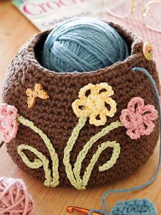 Crochet - Organizer Patterns - The Crocheter's Friend