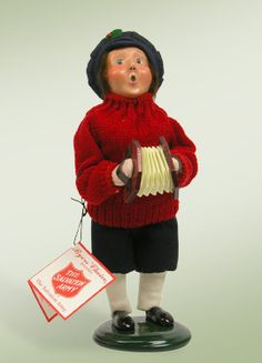 """Salvation Army Boy w/ Squeeze Box"""
