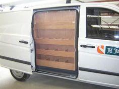 Mercedes Vito Side Door Ply Van Racking Shelving Storage