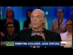 Jesse Ventura Debates Piers Morgan on Gun Control and destroys him. Piers crowd applauds Jesse