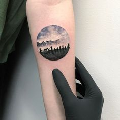 The fellowship of the ring tattoo