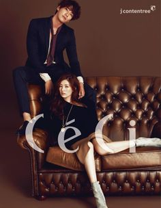 'D-Day' actor and actress Kim Yeong-kwang, Jeong So-min strike sultry pose for 'CeCi' cover @ HanCinema :: The Korean Movie and Drama Database