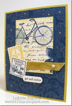 Postage Due ~ Stampin' Up! ~ LeAnne