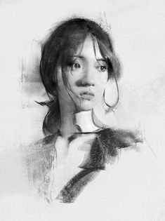 Steps for Portrait Drawing with Charcoal - Drawing On Demand Portrait Sketches, Portrait Illustration, Pencil Portrait, Portrait Art, Drawing Sketches, Art Drawings, Charcoal Portraits, Charcoal Art, Charcoal Drawing