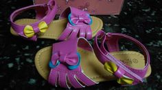 Girl's Rainbow Sandal Size Toddler Size 10 - NWT!!  #Sandals