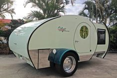 Gidget teardrop camper takes sliding approach to extra spaceYou can find Teardrop campers and more on our website.Gidget teardrop camper takes sliding approach to extra space Gidget Retro Teardrop Camper, Teardrop Caravan, Tiny Camper, Teardrop Campers, Pod Camper, Camper Van, Retro Campers, Rv Campers, Camper Trailers