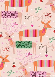 These are the latest Christmas and Holiday designs from Victoria Johnson . All the designs are available for purchase or license and Victo. Christmas Trends, Christmas Deer, Christmas Design, Christmas Inspiration, Vintage Christmas, Christmas Holidays, Christmas Crafts, Xmas, Christmas Patterns