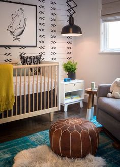 Where do we even start in this amazing Gender Neutral nursery?