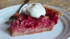 Strawberry Rhubarb Custard Pie - The Best Strawberry Rhubarb Pie Recipe....Chef John