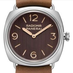 """*Blog Update - Read iN!* #Panerai 45mm Radiomir """"Eilean""""⛵️🌊 Made iN Patina Steel ⌚️ Limited Edition of xxx/449 Per Year!...🎉"""