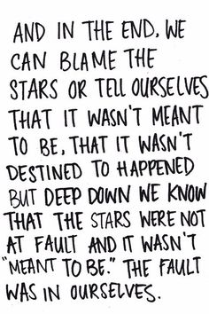 The fault in our stars • john green ~ Going to write this on my bedroom door. :) I love this book!!!