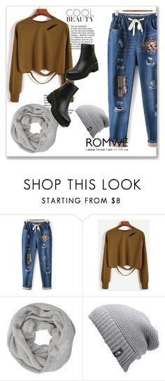 """romwe 9."" by igor89 ❤ liked on Polyvore featuring John Lewis, The North Face and romwe"