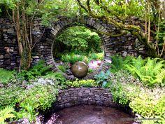caher bridge garden – Peter Donegan Landscaping and Garden Design Amazing Gardens, Beautiful Gardens, Irish Beach, Woodland Plants, County Clare, Ocean Waves, Virtual Tour, Daffodils, Garden Bridge