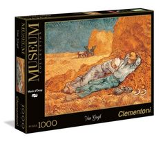 "Van Gogh ""La siesta"" - 1000 pcs - Museum Collection - Clementoni"
