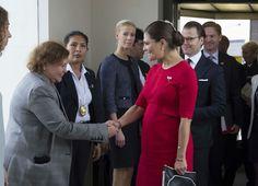 Princess Victoria and Prince Daniel Visit Peru