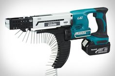 Let's face it, no one likes to spend their weekend doing chores — Saturdays are for sleeping and Sundays are for football. But the Makita LXT Cordless Autofeed Screwdriver makes quick work out of your household tasks, so you can...
