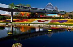 Great shot of #Disney's Epcot
