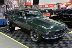 sema mustangs   SEMA 2013: Hotchkis shows off new classic Mustang suspension system ...