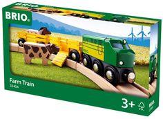 Amazon.com: Brio Farm Animal Train: Toys & Games
