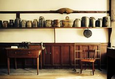 Shaker furniture authentic kitchen