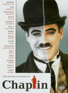 Robert Downey Jr as Charlie Chaplin. Anyone interested in Chaplin should watch this film.