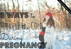 Tips to stay safe and warm in cold weather while you're pregnant