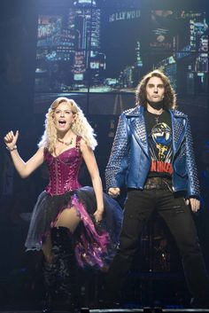 Amy Lehpamer (Sherrie) and Justin Burford (Drew), Rock Of Ages ...