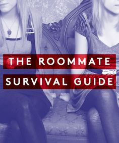 How To Deal With A Lousy Roommate #refinery29  http://www.refinery29.com/living-with-roommates