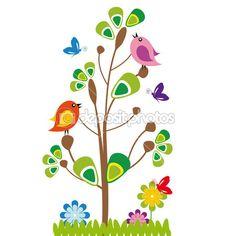 dibujos de arboles animados - Buscar con Google