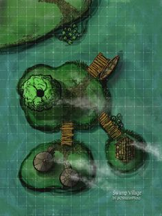 A catalog for user created maps and links to maps by other artists suitable for use in any D&D campaign, adventure, or encounter. Dungeons And Dragons Homebrew, D&d Dungeons And Dragons, Fantasy Battle, Medieval Fantasy, Fantasy World Map, Village Map, Building Map, Rpg Map, Tabletop Rpg