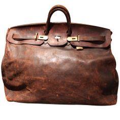 Chris- you need a man bag that looks something like this. Just not vintage Hermes. Hermes Men, Hermes Bags, Hermes Shoes, Lv Bags, Michael Kors Outlet, Vintage Bags, Hermes Vintage, Vintage Canvas, Beautiful Bags