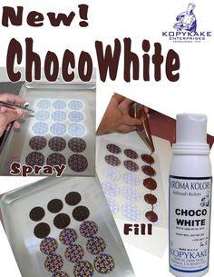 Chocolate Transfer Sheets and Instructions - Over 50 to choose from!