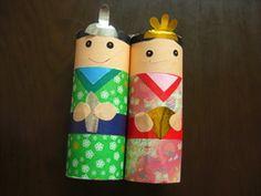 トイレットペーパーの芯で可愛いおひなさま♪<簡単かわいいひな人形を手づくりするコツは?> | できるナビ | みんなでつくる子育て百科 Toilet Roll Art, Crafts For Kids, Arts And Crafts, Child Day, Japanese, Kids Arts And Crafts, Japanese Language, Easy Kids Crafts