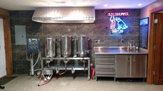 Awesome homebrew setup.                                                       …