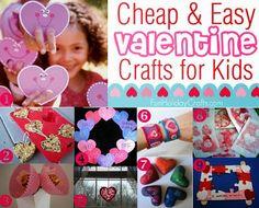 245 DIY Kid Valentine Ideas