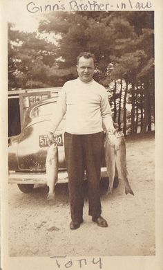 Vintage fishing photos
