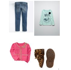 little girl outfit. Love the shoes!
