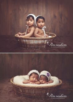 Revisit the same pose from a few years before: | 34 Incredibly Creative Twin Photography Ideas