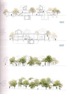 1:200/1:100 - ARCHITECTURAL SCALE ********************** [SOU FUJIMOTO - 1000mq House, Ordos 2008