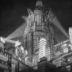 "Fritz Lang's 1927 Film ""Metropolis"" Metropolis Film, Metropolis Fritz Lang, Film D'action, Film Stills, Film Icon, Vaporwave, Paris 1900, Occult Symbols, Tower Of Babel"
