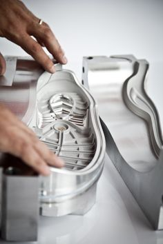 We design and produce moulds for shoe soles, for direct injection on uppers, for all-plastic shoes, for EVA sabot-soles and technical items. We are always willing to analyze new projects and solve production problems. The high technology applied and the 40-year long experience of our technicians are just some of our strengths.