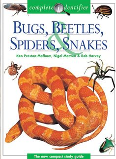 Complete Identifier of Bugs, Beetles, Spiders, Snakes. Hard cover. In Stock $8.99+ s